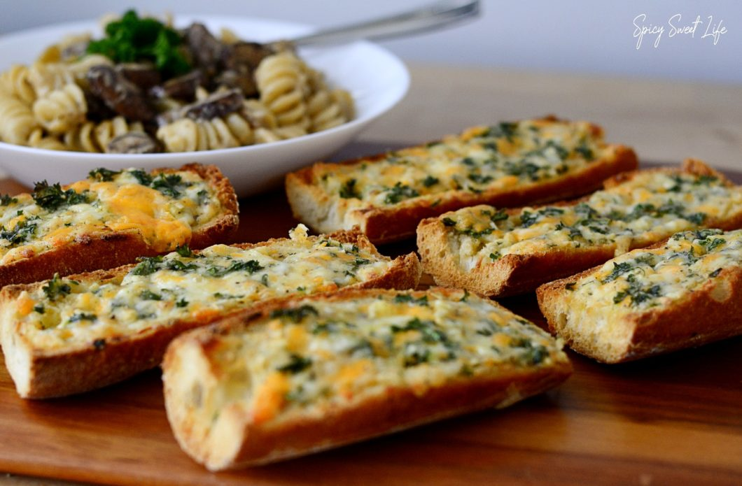 How to make garlic bread at home?